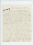 1861-06-05 Colonel Berry and Lieutenant Colonel Marshall write regarding problem with Fessenden and terms of service by Hiram Gregory Berry and Thomas H. Marshall