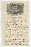 1861-06-17  Major Frank S. Nickerson requests arrest of soldier on behalf of Captain Carver