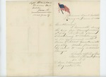 1861-06-18  Samuel Blanchard forwards his bill for transporting the regiment from Rockland to Portland