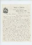 1861-06-25  Adjutant General Hodsdon writes Colonel E.K. Harding regarding errors