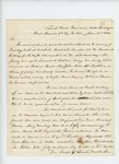 1861-06-25  Colonel Berry notifies the Governor that the regiment arrived at Camp Knox in good condition