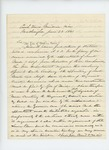 1861-06-28  Colonel Berry forwards officer election returns to the Adjutant General