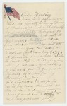 1861-07-15  L.D. Light of Damariscotta writes Colonel Harding that he is unable to join the regiment due to illness