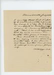 1861-07-18  Physician's note that L.D. Light of Damariscotta is unfit for duty