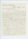 1861-08-17  John H. Quimby requests payment of bill of Captain S.M. Fuller