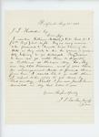 1861-08-26  Sheriff J.D. Tucker notifies Adjutant General Hodsdon of the arrest of William Metcalf and Otis Heal