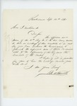 1861-09-14  N.A. Farwell urges the exchange of muskets for rifles