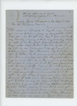 1861-09-15  John Knowles, Jr. requests aid from Governor Washburn in obtaining his bounty payment