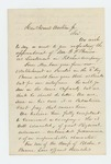 1861-09 - Wheelright Clark requests promotion of George F. Bourne