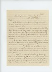1861-09-29  Colonel Berry writes Governor Washburn regarding changes in the regiment