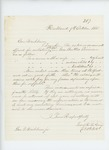 1861-10-09  Lieutenant R.H. Gray requests clarification on extra pay for recruits