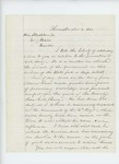 1861-11-02  A.P. Gould recommends Colonel Berry for promotion to Brigadier General