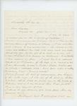 1861-11-04  Lieutenant C.L. Strickland requests promotion