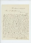 1861-11-25  Benjamin Litchfield requests a commission for his son Julius as a Major in a new regiment
