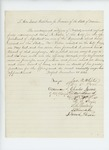 1861-11-25  Mayor James White and citizens of Belfast recommend L.B. Bisbee for appointment as Adjutant