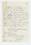 1862-02-06  Discharge of Corporal Alfred J. Stevenson for disability