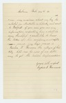 1862-02-27  Lydia S. Hanson requests information about her son Parker W.