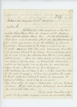 1862-03-05  Charles Strickland requests promotion to Captain