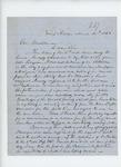 1862-03-12  Dr. Josiah Carr writes Governor Washburn regarding his resignation