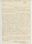 1862-03-14  Charles L. Strickland requests promotion to Captain instead of Harris