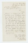 1862-04-14  Dr. Daniel McRuer, Brigade Surgeon, recommends commission for Assistant Surgeon Libby