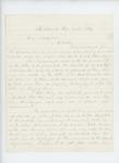1862-04-24  S.K. Whiting writes General Hodsdon regarding his musical instrument