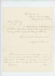1862-04-30  Special Order 95 discharging Assistant Surgeon Benson