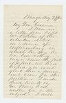 1862-05-29  Rufus Dwinal recommends Captain William Pitcher