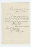 1862-06-13  Albert L. Spencer acknowledges his promotion to Captain, and promotions of Lieutenants Bourne and Goodale