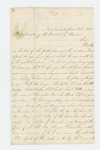 1862-06-17  William M. Harthorn of Company E requests position as 2nd Lieutenant