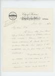1862-06-27  Boston City Clerk writes to Adjutant General Hodsdon regarding aid for Sarah Jane Reeves of Nobleboro