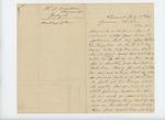 1862-07-17  R.D. Crocker requests a furlough for his son ailing Albert