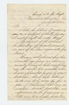 1862-07-21  N.A. Robbins requests a promotion to Quarter Master