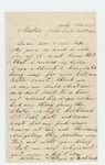 1862-07-22   Hannah R. Fletcher requests husband Brian W. Fletcher's wages