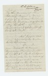 1862-07-24   C.S. Delano asks General Hodsdon if S.D. Light can be held to service