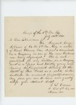 1862-07-24   L.D. Carver requests a commission for Sergeant George S. Carver of Company A