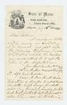 1862-07-26  Colonel Elijah Walker and Charles True request arrest of deserter Moses A. Dow