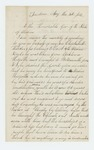 1862-08-03  Martha W. Glidden requests discharge of her son Charles M. Webster