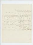 1862-08-05  Lieutenant R.H. Gray recommends Orpheus Roberts for promotion to lieutenant