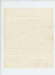 1862-08-07  C.A. Rollins recommends Oliver Blackington for commission