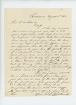 1862-08-13  N.A. Farwell recommends Orpheus N. Blackington for appointment in a new regiment