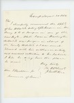 1862-08-30  John H. Rice recommends Assistant Surgeon George W. Hatch for promotion to surgeon