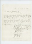 1862-09-10  S.N. Fuller recommends Americus F. Carter for promotion to Lieutenant in Company K