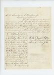 1862-10-07  Petition of Colonel Walker and others requesting Charles S. McCobb for assistant surgeon