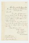 1862-10-19  Colonel Walker acknowledges General Hodsdon's apology