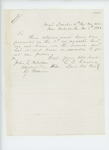 1862-11-08  Lieutenant Colonel L.D. Carver writes regarding delay in sending monthly returns