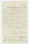 1862-11-18  Omar Monga requests discharge