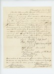1862-11-18  Isaac Carver and others request promotion of Frank Eames