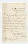 1862-11-21  Colonel Walker explains delay in forwarding regimental history and returns