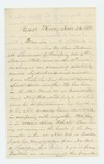 1862-11-26  H.H. Sherman requests payment for son Frederic
